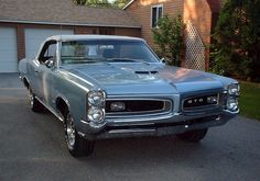 Fontaine Blue 1966 GTO Convertible