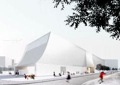 Lahdelma & Mahlamäki Architects and MADE Arhitekti's design for a Latvian art museum