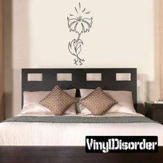 Flower Wall Decal - Vinyl Decal - Car Decal - CF23046
