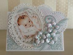 Mijn kaarten bloggie: Babykaart