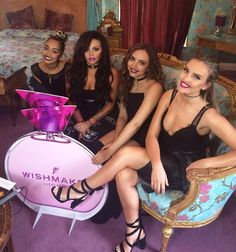 Little mix at their new perfume Wish-Maker launch ❤️