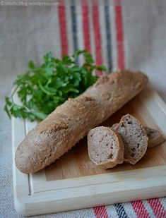 Bread Recipes, Vegan Recipes, Dinner Recipes, Food, Diet, Vegane Rezepte, Bakery Recipes, Meals, Eten
