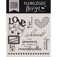 Boutique scrapbooking - Tampon Florilèges design florileges capsule mai