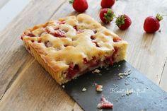 Deze aardbeiencake is makkelijk te maken en echt superlekker met verse aardbeien uit de tuin. Een heerlijke aardbeiencake met weinig ingrediënten te maken