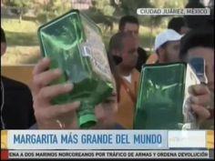 Crean Un Récord De 'La Margarita Más Grande Del Mundo' Con 95 Litros De Tequila #Video
