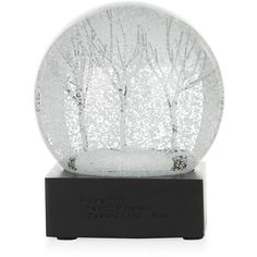 Cool Snow Globes Winter Stream Snow Globe (1,275 MXN) ❤ liked on Polyvore featuring home, home decor, holiday decorations, christmas holiday decorations, winter snow globe, glass home decor, glass snow globes and christmas snowglobes