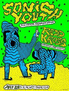 Eva Koshka: Sonic Youth Posters