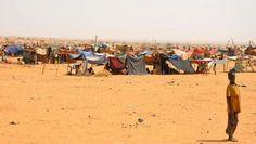 Camp de réfugiés maliens dans le Nord du Mali (copyright Amnesty International)