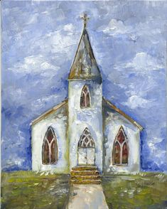 Church Painting $35