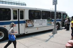 Ride the Staten Island Bus? Be sure to check out our Visit Bucks County ad on the sides of the bus!