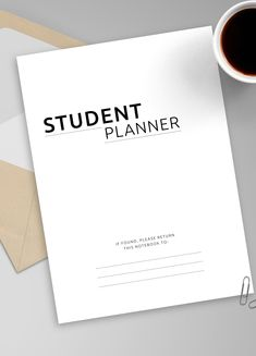College Student Academic Planner can help you focus, stay on top of things and keep track of your activities and manage time effectively. It can help you maintain your schedule, save your money and plan out study times. #planner #college #study #student #academic Student Planner Printable, Academic Planner, Monthly Planner, Planners For College Students, College Planner, Goals Planner, Planner Organization, Getting Organized, Schedule