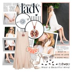 """""""Totwoo smart jewelry - My style"""" by matblanc ❤ liked on Polyvore featuring Abysse, Forum, Inez & Vinoodh, TIBI, Charlotte Russe, Kate Spade and totwoo"""