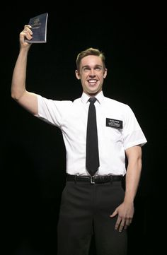 Nic Rouleau in The Book of Mormon 2nd National Tour. See it in San Diego May 27-June 8, 2014