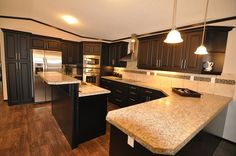 Jandel Homes | The Vienna | Stunning kitchens | Manufactured homes