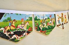 Vintage Mary Poppins bunting