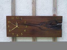 Wall Clock ...///... black walnut