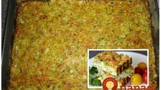 Sedliacka cuketová baba, ktorú milujú aj najväčší mäsožravci: 2 cukety a máte obed pre celú rodinu! Lasagna, Ethnic Recipes, Food, Eten, Meals, Lasagne, Diet
