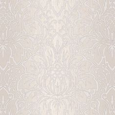 House of Hampton Knaus L x W Modern Damask Wallpaper Roll Color: Gray View Wallpaper, Home Wallpaper, Wallpaper Roll, Damask Stripe Wallpaper, Pattern Wallpaper, Wallpaper Warehouse, Kitchen Wallpaper, 5 W