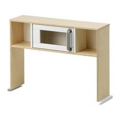 What is a kitchen without a mircowave? DUKTIG Top section for play kitchen - IKEA