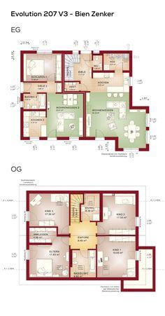 Die 933 besten bilder von haus grundriss in 2019 house for Fertighaus grundrisse einfamilienhaus