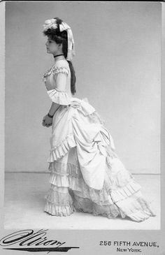 Ethel Barrymore in Clair de Lune.  Ethel Barrymore was the grandmother of Drew Barrymore, by the way.  And an activist and feminist - she was truly great.