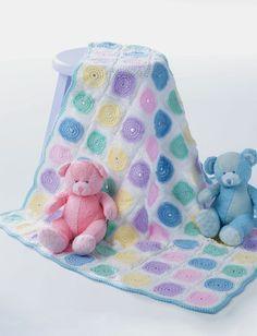 Yarnspirations.com - Patons Baby Blanket - Patterns  | Yarnspirations