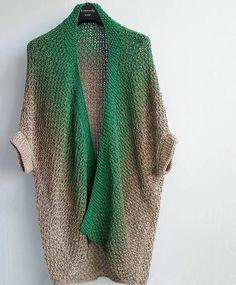 Easy Knitting, Loom Knitting, Knitting Patterns, Crochet Wool, Crochet Cardigan, Knit Cardigan Outfit, Kentucky Derby Fashion, Crochet Humor, Knit Fashion