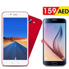 AED 159 | 2 in 1 Bundle - Crescent Air 4 - 4G, 32GB, 4GB RAM, 5.5 Inch, Dual SIM Red with FREE 3.5 inch Dual Sim Mobile  Tel ☎️ : 045576800 ➜ WhatsApp 📱: 0551045757  WWW.ASET-UAE.COM #asetuae #dubai #uae #bundleoffers #deals