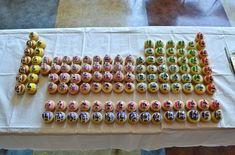 The Periodic Table of Cupcakes!!!