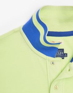 Woody Neon Lime Classic Fit Polo Shirt | Joules UK