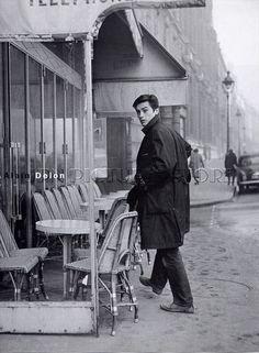 Alain Delon c.60s. Paris