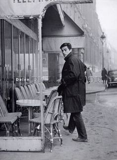 Alain Delon c.60s. Paris