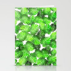 Monstera leaf random Stationery Cards @pointsalestore  @society6threesecond #stationerycards #cards #painting #digital  #oil #watercolor #popart  #pattern #abstract #monster leaf #leafs #monstera #banana #floral #flower #plants #green   #earthday #mother #girly  #design #graphicdesign
