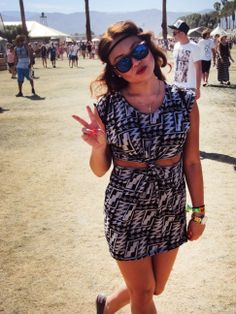 Dress for Coachella. #coachella2013 #coachellastyle
