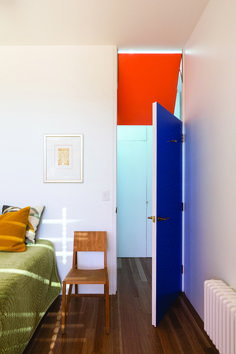 """""""We used layered, unexpected colour pairings to articulate and expand rooms into adjacent spaces"""""""