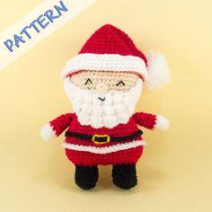 Santa Claus Crochet Amigurumi Pattern
