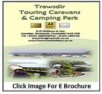 Trawsdir Caravans, Touring, Camping, Campsite, Outdoor Camping, Campers