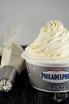 26 Ideas for cupcakes recette philadelphia Desserts With Biscuits, No Cook Desserts, Easy Desserts, Delicious Desserts, Mousse Dessert, Creme Dessert, Philadelphia Creme, Dip Recipes, Cake Recipes