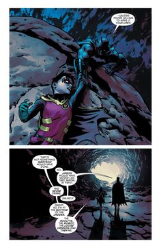 Robin (Damian Wayne) and Batman (Bruce Wayne) Catwoman, Batgirl, Tim Drake, Red Hood, Nightwing, Gotham City, Robins, Jason Todd, Red Robin