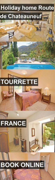 Hotel Holiday home Route de Chateauneuf in Tourrette, France. For more information, photos, reviews and best prices please follow the link. #France #Tourrette #travel #vacation #hotel
