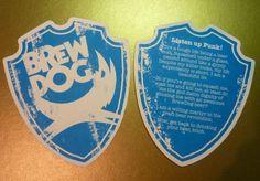 6 BREWDOG Beer Mats Coasters ~ NEW & UNUSED   eBay
