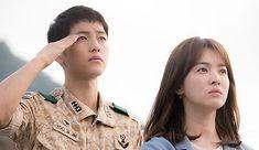 """Descendants of the Sun"": Song Joong Ki & Song Hye Kyo Pledge Allegiance"