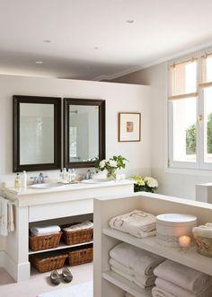 Baños pequeños muy bien solucionados · ElMueble.com · Especiales
