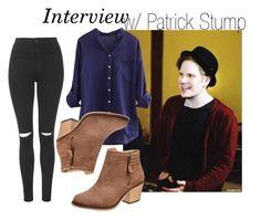 """Interview w/ Patrick Stump"" by wewillfindawaythroughthedark ❤ liked on Polyvore"