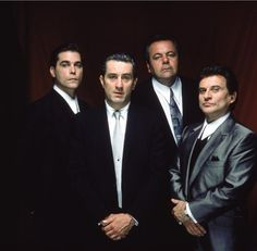 love you bobby d. - Still of Robert De Niro, Ray Liotta, Joe Pesci and Paul Sorvino in Goodfellas