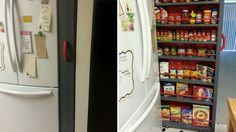 DIY Roll-Out Pantry Saves Space in Your Kitchen