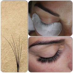 I don't really like these types of eyelash extensions... they put a lot of pressure/weight on your existing lashes (esp if you have already had a tint or perm).