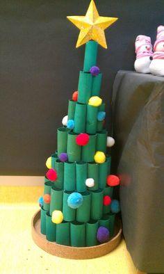 Christmas Art For Kids, Christmas Arts And Crafts, Diy Christmas Tree, Christmas Activities, Christmas Presents, Holiday Crafts, Christmas Ornaments, Diy Natal, Theme Noel