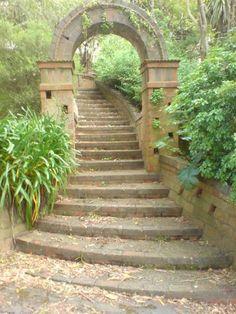 Truby King garden, Melrose, Wellington, New Zealand
