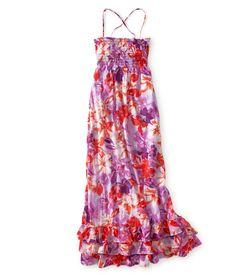 Floral Woven Maxi Dress - Aeropostale... I love maxi dresses... they're never too short for me!